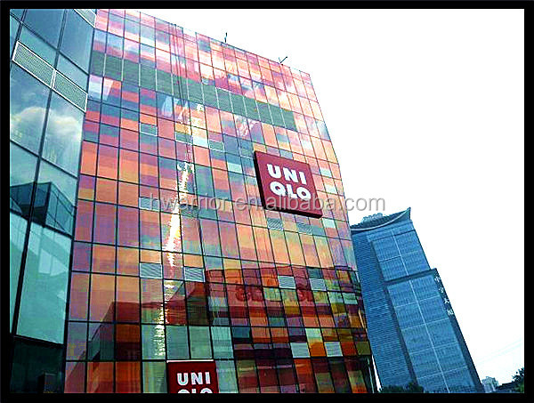 Building Shopping Mall Glass Curtain Wall Low E View