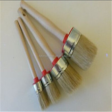 CHALK PAINT & WAX pure bristle ROUND PAINT BRUSHES 50mm 40mm 30mm 20mm