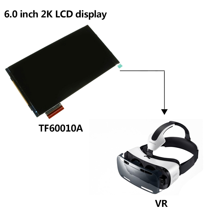 [china Supplier]6 Inch 2k Mipi Dsi Interface Lcd Display With Hdmi  Controller Board For Vr Game - Buy Mipi Dsi Interface Lcd Display,Hdmi  Controller