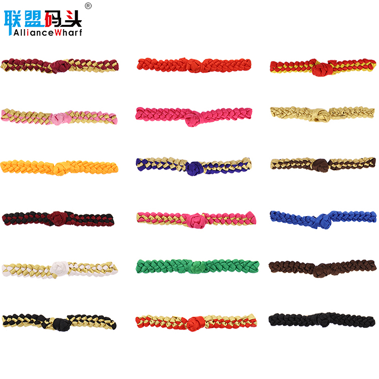 Wholesale Colorful Sew Classical Chinese Knot Frog Closure Buttons For Shirt