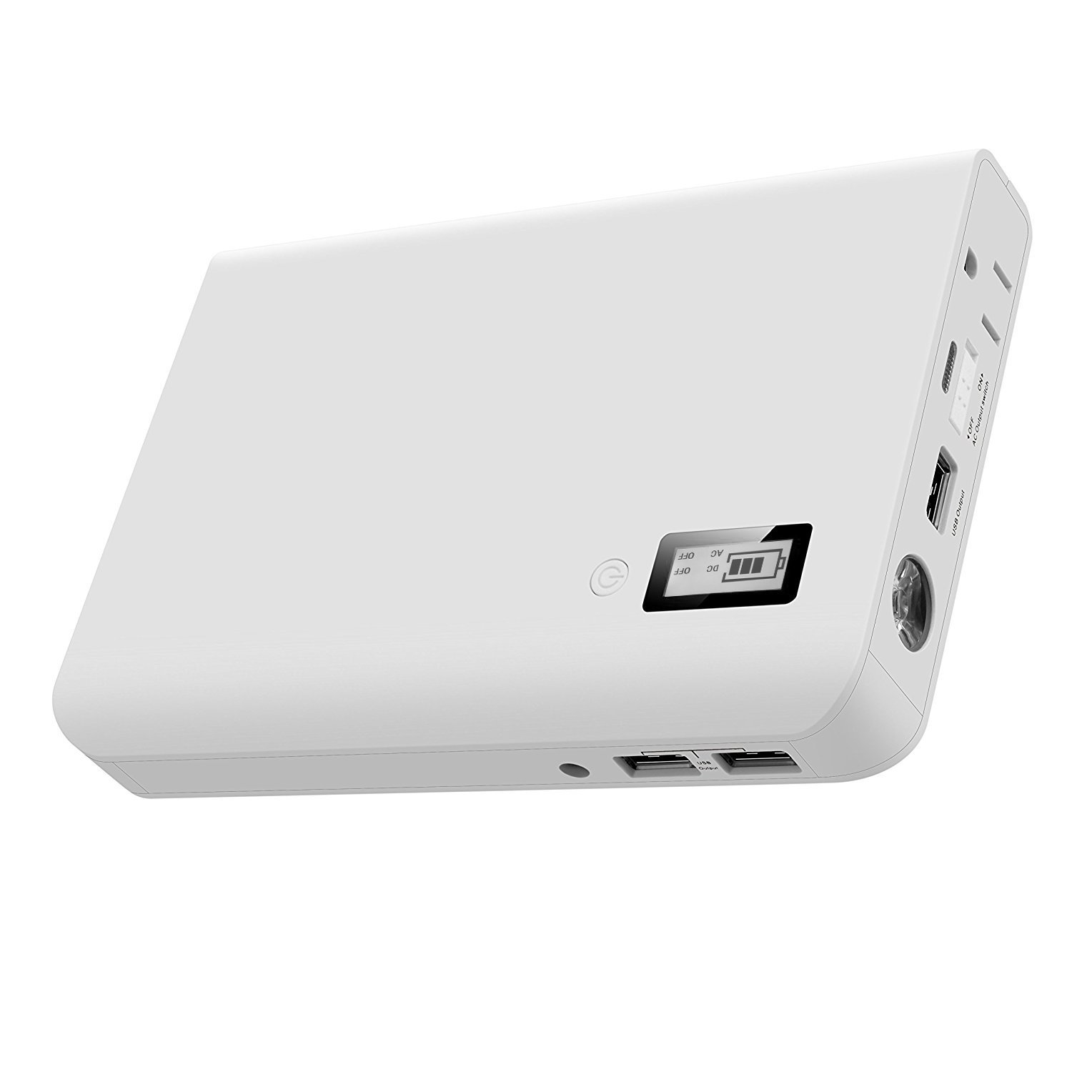 AIVANT AC Outlet Portable Charger, Laptop Power Bank 24000mAh External Battery Packs for Smartphone Tablet and More