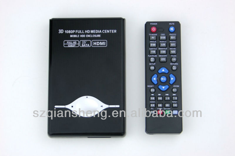 2.5 inch SATA Hard disk hd media player