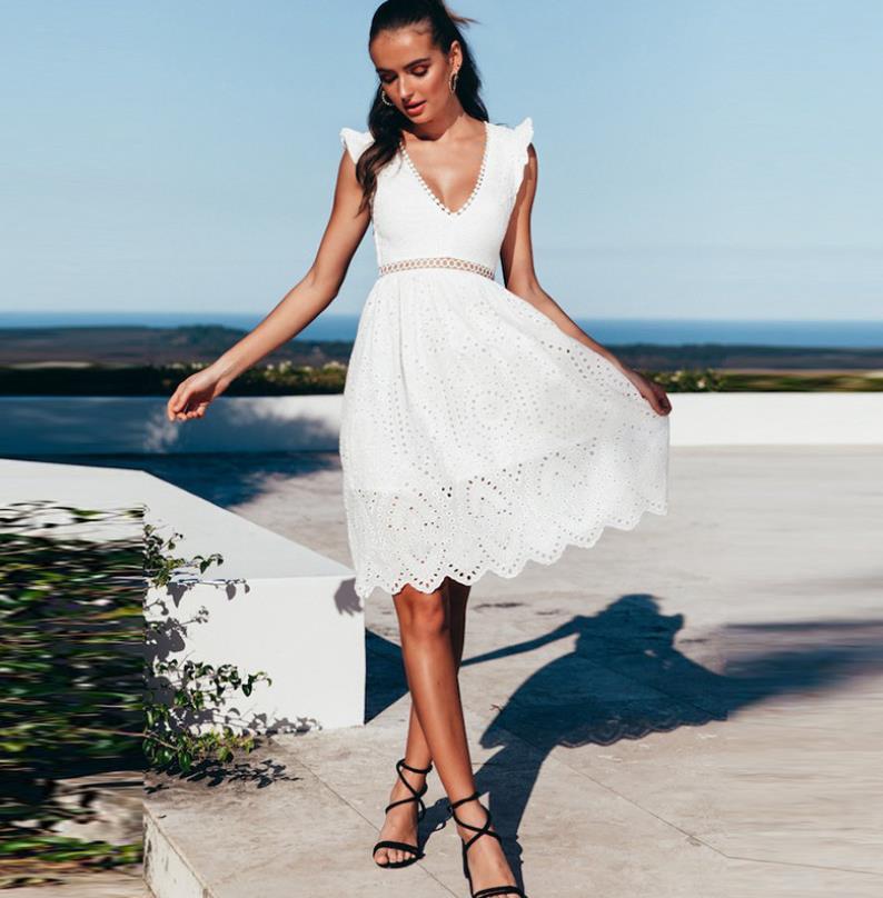 f0ac4f83fa27e Yüksek Kaliteli Beyaz Pamuklu Yazlık Elbiseler Üreticilerinden ve Beyaz  Pamuklu Yazlık Elbiseler Alibaba.com'da yararlanın