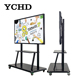 YCHD 65 inch classroom smart board interactive whiteboard without projector with android