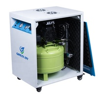 Automated Industry Use Dry Air Supply Oil Free Compressor With Cabinet