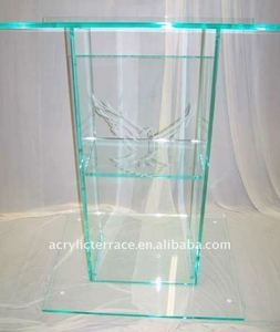 Acrylic Glass Color Podium Lectern