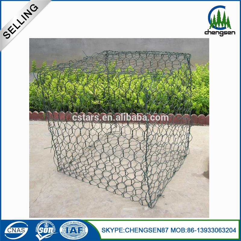 Free samples wire cages rock retaining wall