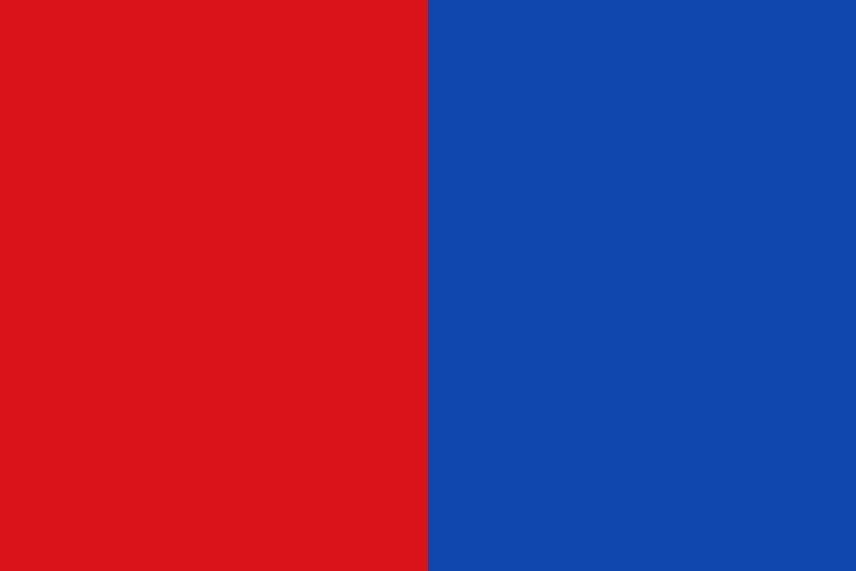 magFlags Large Flag Municipal flag of Bastogne, Belgium   landscape flag   1.35qm   14.5sqft   90x150cm   3x5ft -- 100% Made in Germany -- long lasting outdoor flag