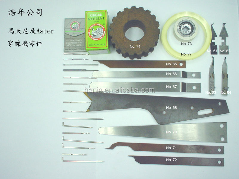 Manufacturer Bookbinding Parts Pioneer from Hong Kong Precision Quality Since 1962 Muller Martini Thread Knife 3210