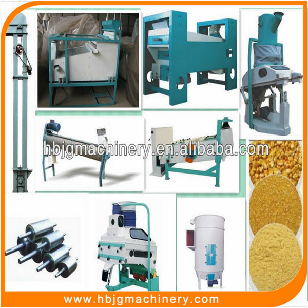 Fully Automated complete set 50ton mealie mill