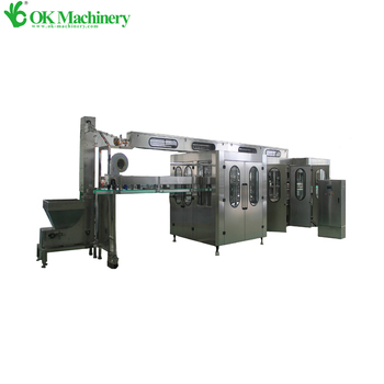 Full automatic juice filling machine production line prices factory directly