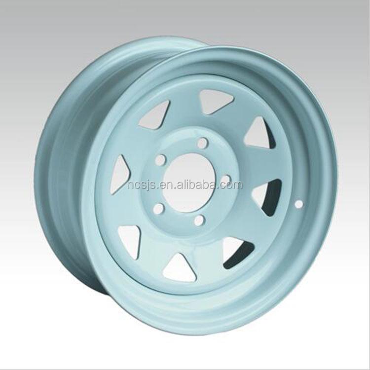 13 Inch trailer Wheels Steel Wheel Rims For Sale