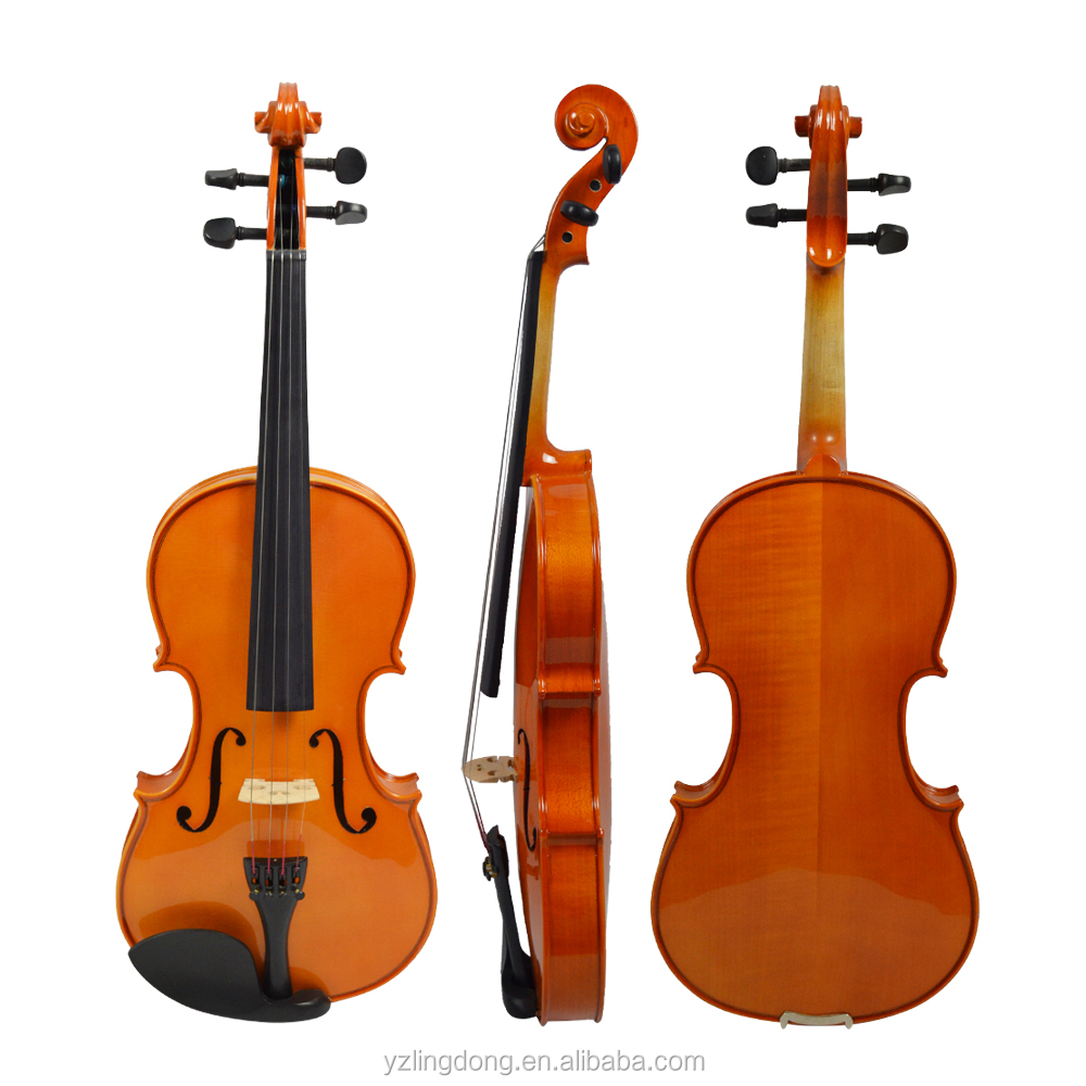 cheapest price of student solidwood violin with free violin case