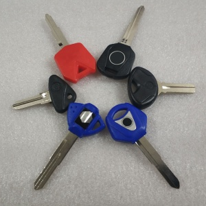 Multiple Colour Motorcycle Universal Blank Key for Honda Suzuki Yamaha  Kawasaki Bmw Hayley