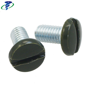 Painted head screw raised countersunk screws for decoration