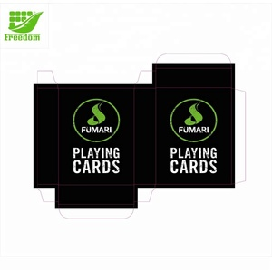 High Quality Customize 63x88mm Paper Playing Card Logo Printed Poker