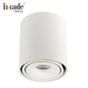 Indoor Surface Mounted Round Commercial 10W Ceiling COB LED Spotlight Price