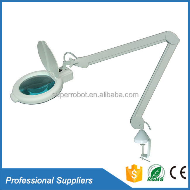 Professional magnifier salon beauty illumination inspection glass magnifying lamp led