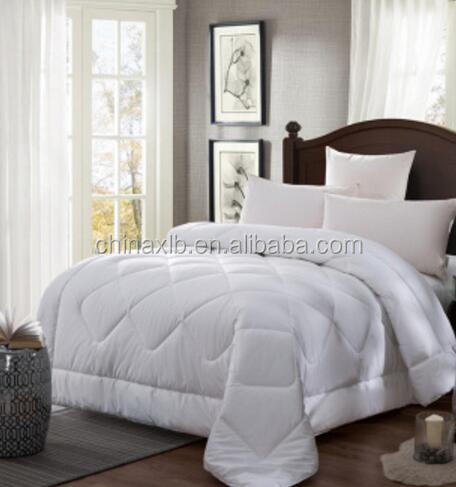 Luxury super soft 100% cotton microfiber comforter /hotel bedding set