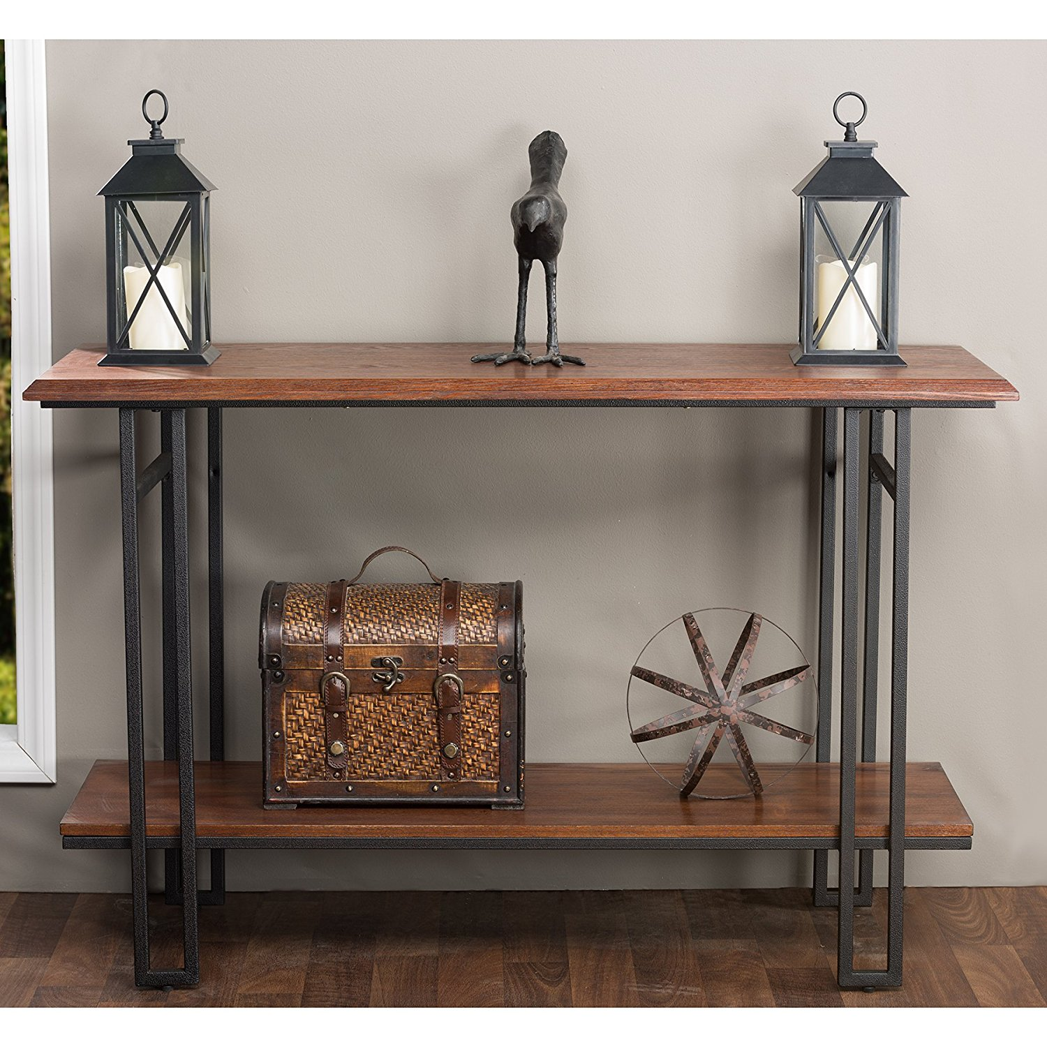 Metal Wood Console Table Find