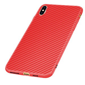 New design 2019 soft Carbon Fibre TPU case for Motorola one cover case smartphone