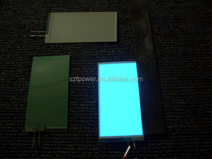 Warehouse factory price EL lighting backlight / EL sheet / EL advertising foil