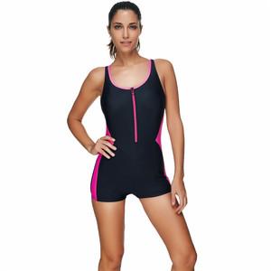2a8e636b3a8 Front Zipper Swimsuit