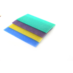 Reticulated silicone filter refrigerator floor freeze mat