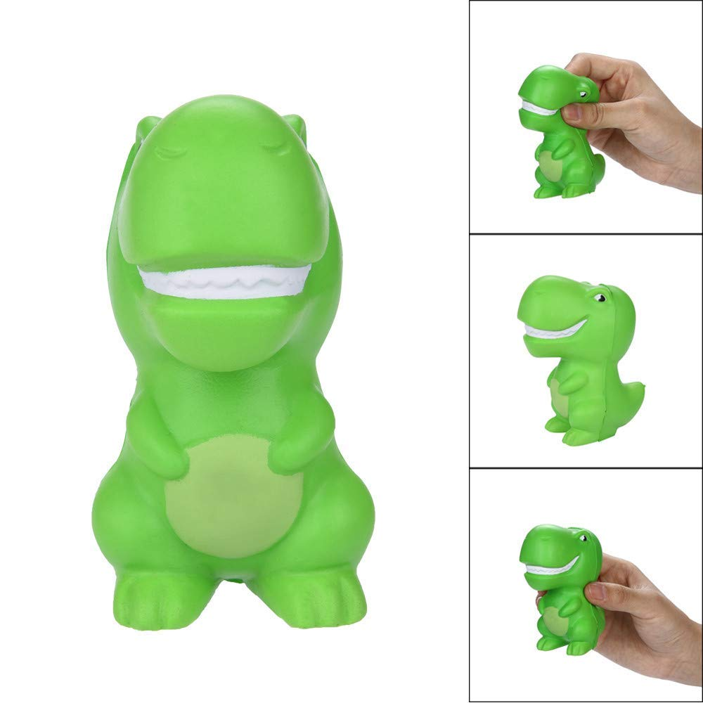 Euone Squishy Toy Clearance , Green Dinosaur Scented Slow Rising Squeeze Toys Stress Reliever Toys Squishies