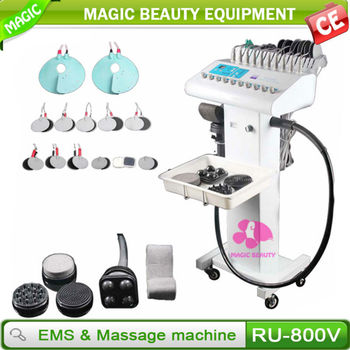 Good quality Professional Electric vibrating body massager / g5 machine