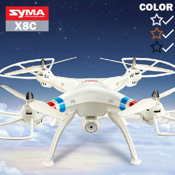 Syma X8C&X8 2.4G 4ch 6 Axis Venture With 2MP Wide Angle Camera RC