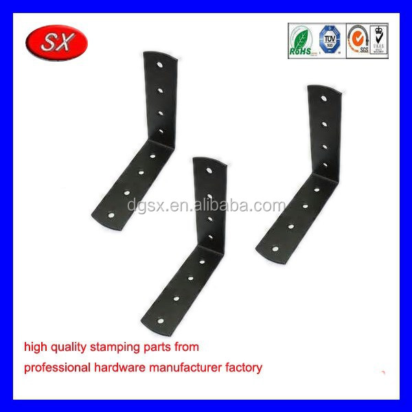 customized swing set brackets,stainless steel black coating brackets furniture hardware accessories