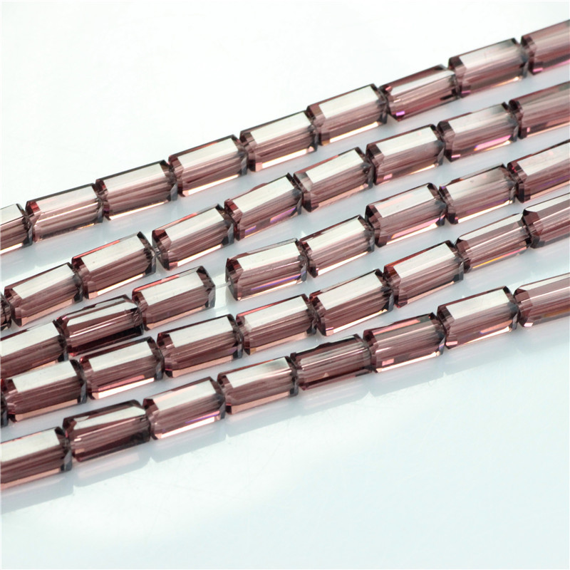 3*6MM Crystal Rectangular Craft Material 400pcs/lot Wholesale Parts Jewelrys Glass Beads Curtains Abalorios Bisuteria