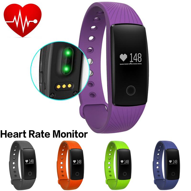 Heart Rate Smartband Smart Bracelet Wristband Fitness Activity Tracker Bluetooth PK Fitbit Xiaomi Mi Band for
