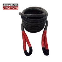 JINLI Vehicle Auto Emergency Elastic Car Nylon Tow Rope Recovery Kinetic Ropes