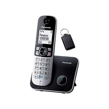 Panasonic Phone Number >> Cordless Phone With 100 Name And Number Phonebook Large 1 8 Lcd Display Panasonic Kx Tg6881 View Cordless Phone Panasonic Product Details From