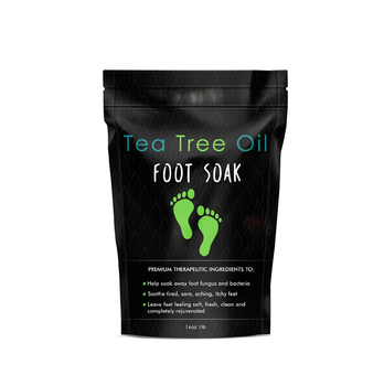 Tea Tree Oil Foot Soak With Epsom Salt For Toenail Fungus,Athletes  Foot,Stubborn Foot Odor Scent - Buy Foot Soak,Tea Tree Oil Foot Soak,Tea  Tree Oil