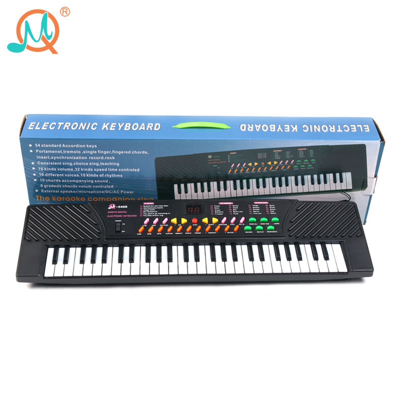 54 Keys Mini Kids Toys Electronic Piano Keyboard For Sale - Buy Toys  Electronic Piano Keyboard,Mini Piano Keyboard,Kids Electric Piano Keyboard