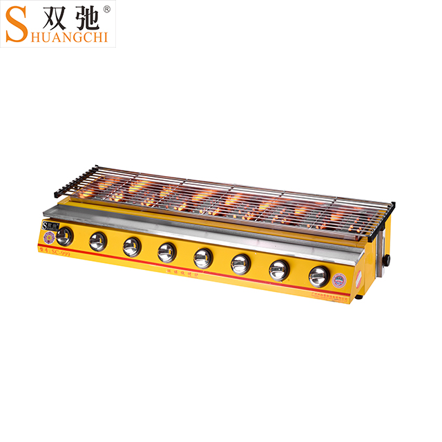 OEM alibaba supplier hot selling products commercial kitchen machine 8 burners bbq gas grill barbecue japanese barbecue grills