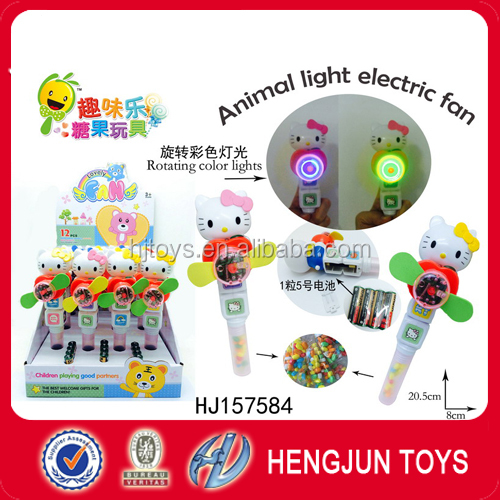 Hot Selling Candy Cartoon Fan With Light / Summer Toys / Fan Toys ...