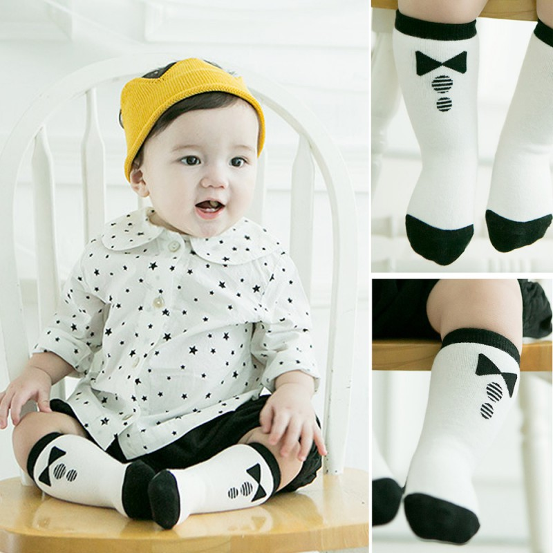 Summer Baby Socks Infant Cotton Socks Kids Knee High Breathable Cute Socks