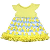girls dress names with pictures fancy cotton icing dress for casual wear