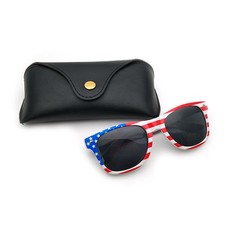 black sunglasses box PU material wallet for men/women 2019