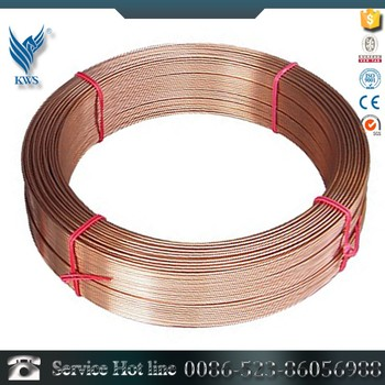 Factory Supply Directly Sus202 Stainless Steel Copper Coated Wire ...