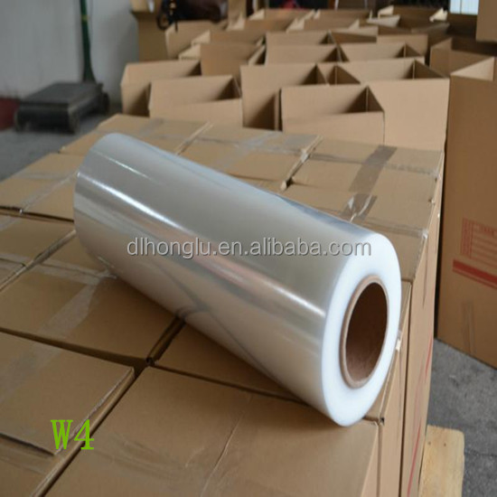 Manufacture clear transparent LLDPE MDPE plastic pe shrink stretch film