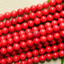Natural stone 5.5-6mm A red coral, Fashion jewelry and loose gemstones, wholesale beads for DIY design making