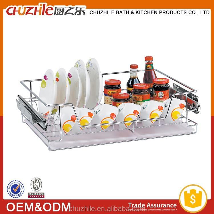 Fabriekslevering keuken draadmand groothandel nieuwste design keuken opslag container trek - Keukenkast outs ...
