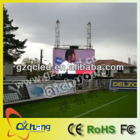 P10 outdoor led display screen for sport