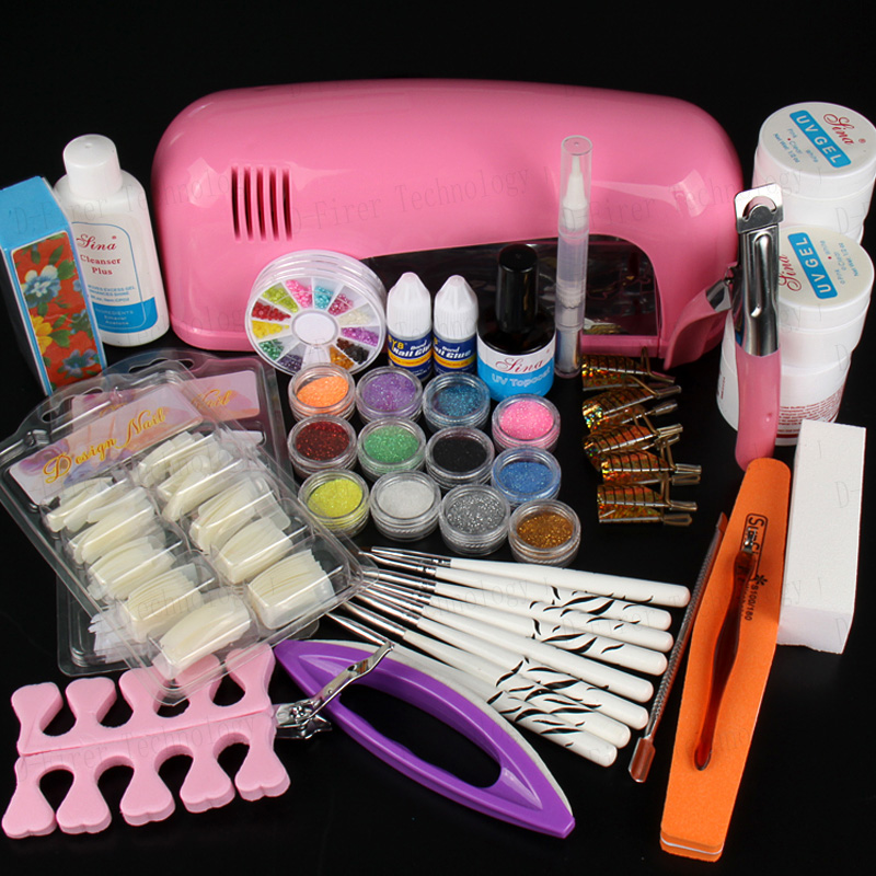 Hot Sale Professional Manicure Set Acrylic Nail Art Salon