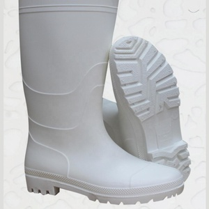 b36d233b0e4 high quality and cheap waterproof clear pvc white safety wellington rain  boots for men gumboots wholesale pvc rainboots